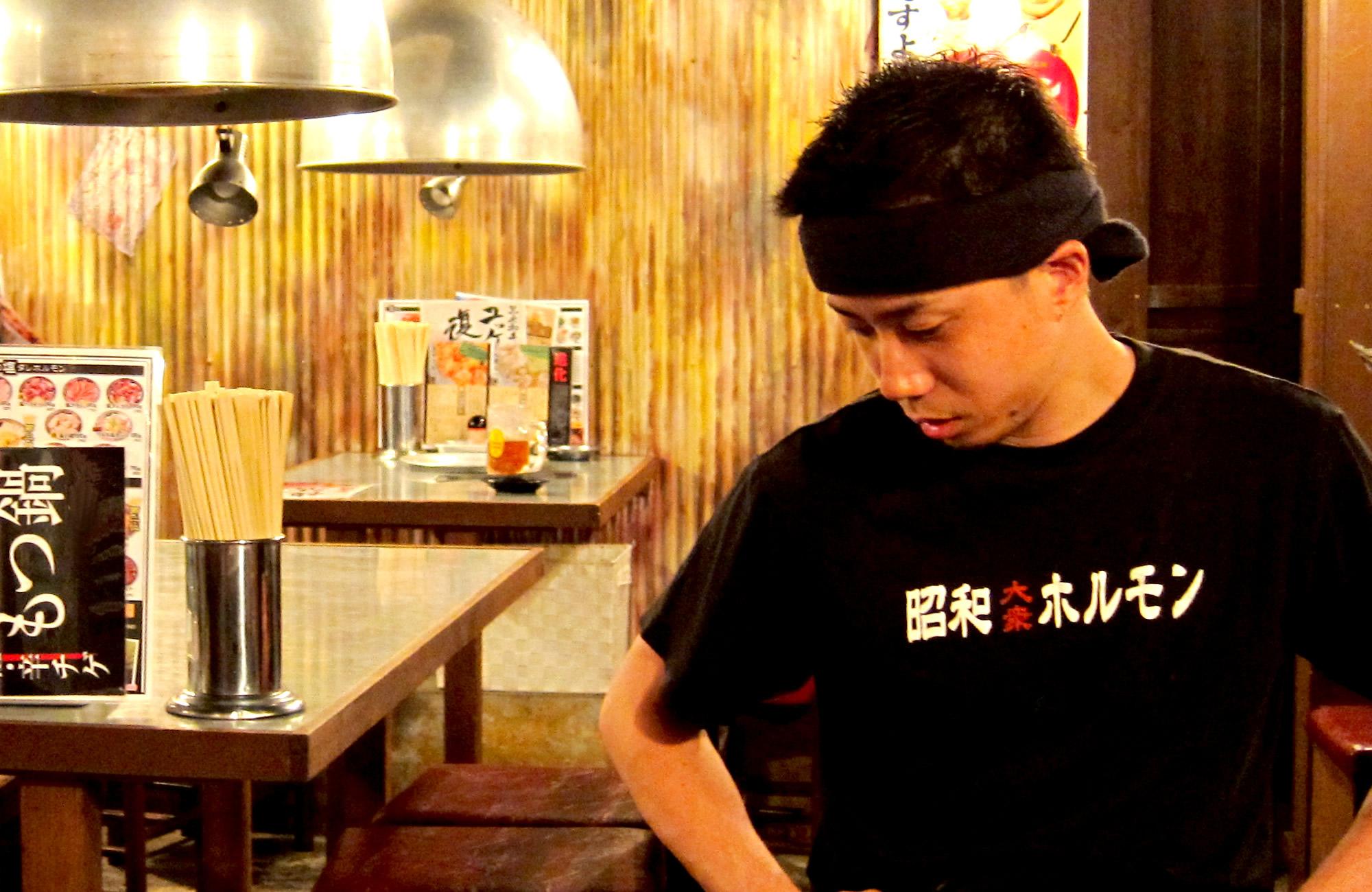 昭和大衆ホルモン 道頓堀店 店長 兼 ミナミエリア サブマネージャー 全ての人に感謝!!